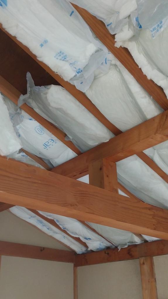 リフォーム 天井の断熱工事 株式会社山下建具店