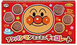 お菓子 画像 アンパンマンミニミニチョコレート