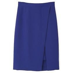 古着 画像 タイトスカート ブルー pink&dianne Mサイズ