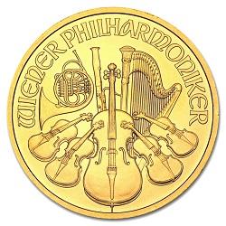 金 画像 ウィーン金貨 1オンス ランダム・イヤー オーストリア