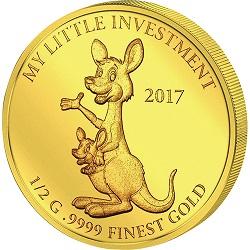 金貨 画像 カンガルー 10ドル金貨 ソロモン諸島 2017