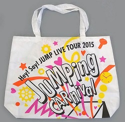 Hey!Say!JUMP 画像 LIVE TOUR 2015 公式グッズ バッグ 美品
