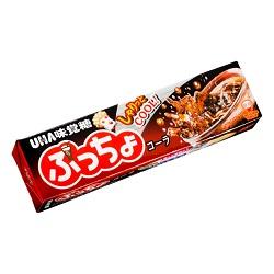 お菓子 画像 ぷっちょ コーラ UHA味覚糖 しゃりっとクラッシュキャンディ COOL ひんやり炭酸感 しゅわしゅわソフトキャンディ