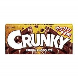 お菓子 画像 CRUNKY クランキーチョコレート LOTTE サクサクすすめ