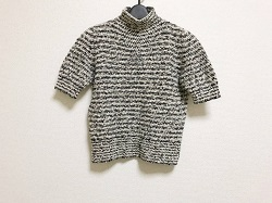 古着 画像 半袖セーター ボーダー valentino garavani Lサイズ  レディース