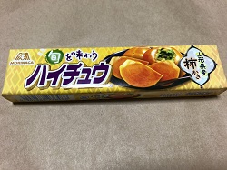 お菓子 画像 ハイチュウ 柿かき 森永 山形産柿 旬を味わう