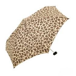 折りたたみ傘 画像 ヒョウ柄 新品 エコバックとセット