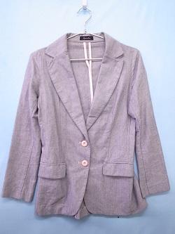 古着 画像 テーラードジャケット ピンク CHARGE レナウン フリーサイズ 美品