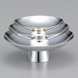 銀製品 画像 三ツ組盃 銀杯