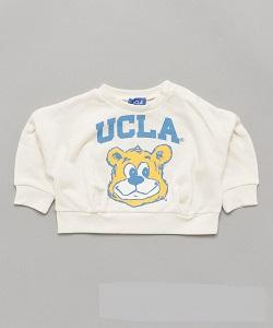 古着 画像 ワイドトレーナー オフホワイト UCLA フリーサイズ レディース 未使用品