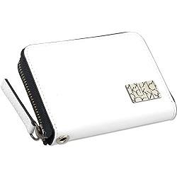 コインケース 画像 カルバンクライン Calvin Klein 小銭入れ 白 牛革 ラウンドファスナー