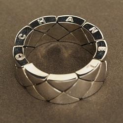シャネル 画像 マトラッセリング 指輪 K18 レディース