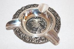 銀製品 画像 シルバーアッシュトレイ SILVER800