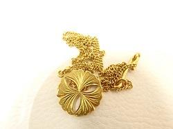 金製品 画像 K20 20金 ネックレス