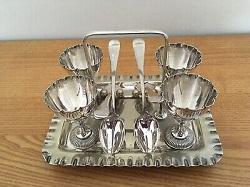 銀製品 画像 エッグスタンド スプーン