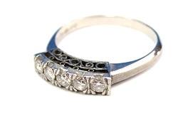 プラチナ製品 画像 Pt850 リング 指輪 ダイヤモンド