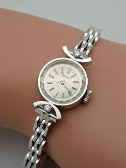 プラチナ製品 画像 腕時計 Pt650 インターナショナルウォッチカンパニー ダイヤモンド アンティーク