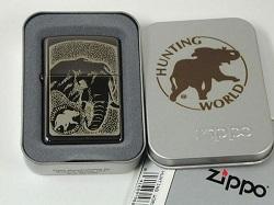 ライター 画像 ZIPPO ハンティングワールド 海外限定品 新品