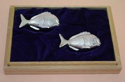 銀製品 画像 純銀 箸置き 鯛