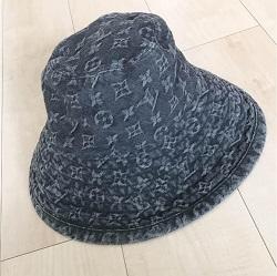 ルイヴィトン 画像 帽子 ハット デニム モノグラム