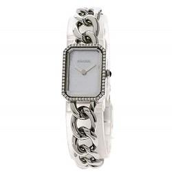 シャネル 画像 腕時計 プルミエール ステンレススチール ダイヤモンド レディース