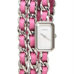 シャネル 画像 腕時計 プルミエール ロックポップ ピンク クオーツ