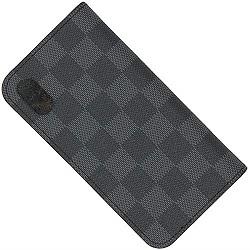 ルイヴィトン 画像 iphoneケース X XS フォリオ ダミエグラフィット