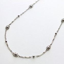 プラチナ製品 画像 Pt999 純プラチナ デザインネックレス