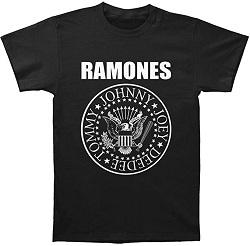 古着 画像 半袖Tシャツ 黒 RAMONES against Mサイズ レディース 未使用品