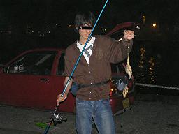0611ヒトデの一家釣り