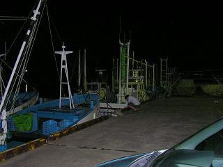 0608海釣り鹿島灘漁港での光景