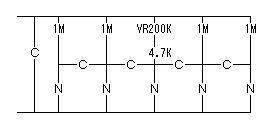 520519_光線銃の標的回路図