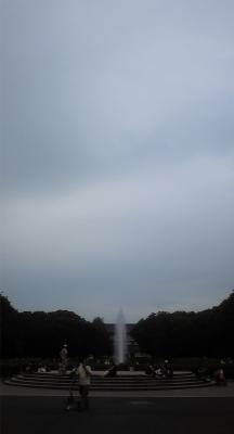 噴水@上野