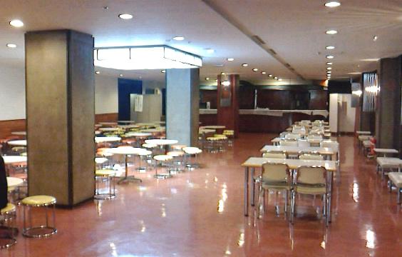 NHKホール 飲食スペース