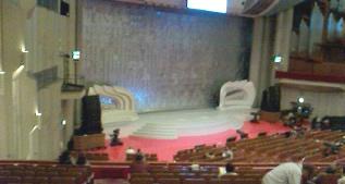NHKホール 2階席