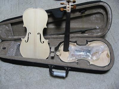バイオリン作成キット