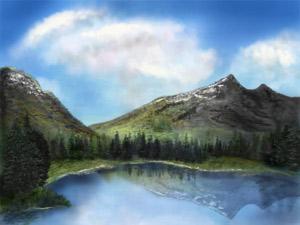 山の湖もどきs