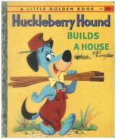 珍犬ハックル家を建てる|リトルゴールデンブック表紙