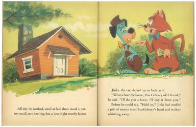 珍犬ハックル家を建てる|リトルゴールデンブック1