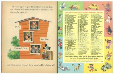 珍犬ハックル家を建てる|リトルゴールデンブック3