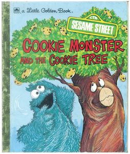 98851  SESAME STREET COOKIE MONSTER and the cookie tree-1 small.jpg