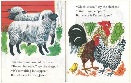 ジョーンズ牧場のどうぶつたち/リチャード・スカリー版|リトルゴールデンブック3