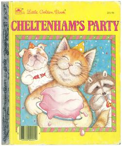 チェルトナムのパーティ|リトルゴールデンブックチェルトナムのパーティ|リトルゴールデンブック表紙