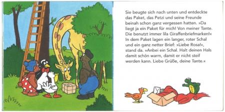 ペッツィと小包み|ピクシー絵本3
