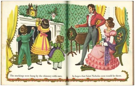 クリスマスの前の晩/1950年版|リトルゴールデンブック 1
