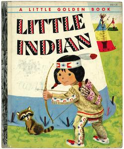 ちいさなインディアン|リトルゴールデンブック