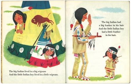 ちいさなインディアン|リトルゴールデンブック1