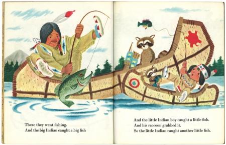 ちいさなインディアン|リトルゴールデンブック2