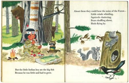ちいさなインディアン|リトルゴールデンブック3