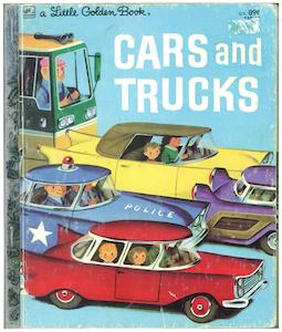 カーズ アンド トラックス|リトルゴールデンブック表紙